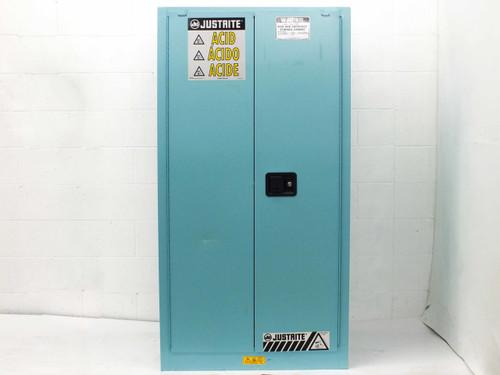 Justrite 60 Gallon Acid and Corrosive Storage Cabinet 896022