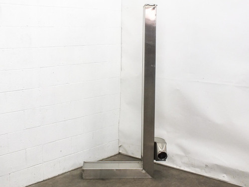 """Stainless Steel Clean Room Air Duct Housing 72.5"""" x 30.5"""" x 16"""""""