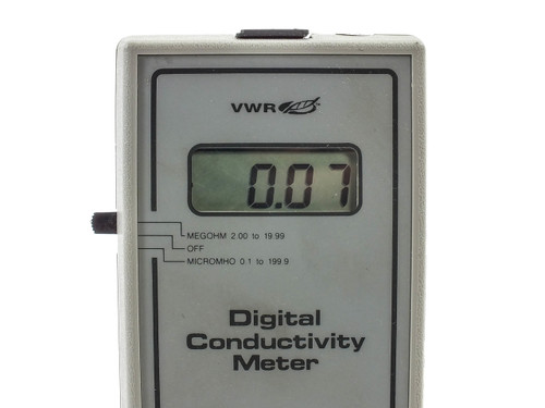 Vwr Conductivity Meter : Vwr international  traceable digital conductivity