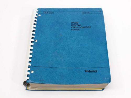 Tektronix 2430  Digital Oscilloscope Service Manual
