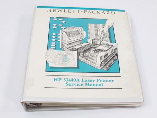 HP 33440  LaserJet Series II Service Manual