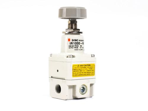 "SMC IR1000-N01  Precision Small Regulator 0.005 - 0.2MPa 1/8"" NPT 35mm Body"