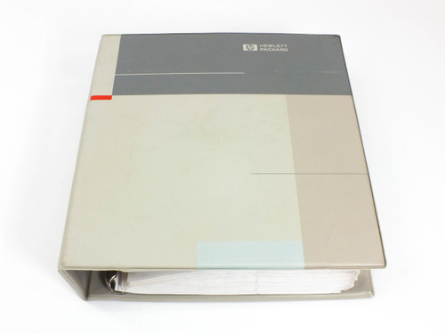 HP 8662A  Synthesized Signal Generator Operating & Service Manual Vol. 1 & 2