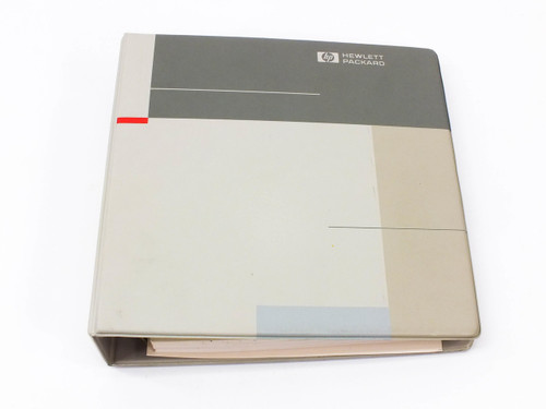 HP 16500B/16501A  Logic Analysis System Programmers Guide