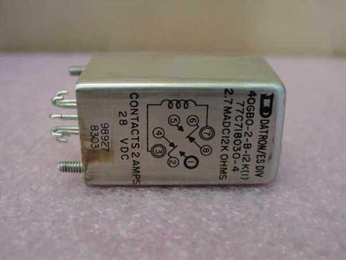 Datron Relay 40GBO-2-B-12K(1)