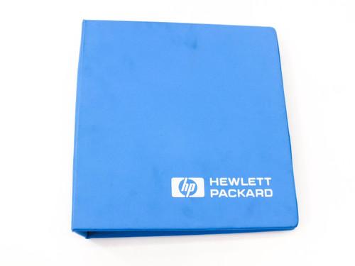 HP 16510A  Logic Analyzer Module Getting Started Guide