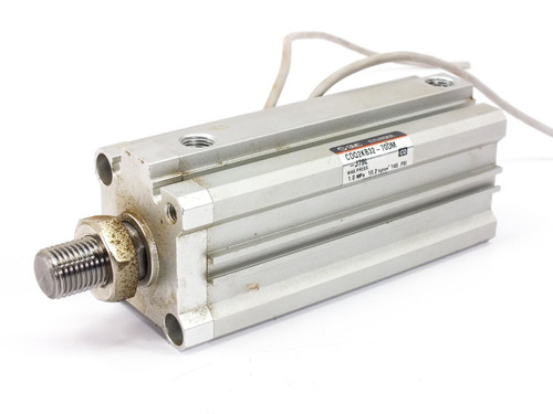 Pneumatic NON-Rotating Cylinder 70mm Stroke 32mm Bore CDQ2KB32-70DM-J79L
