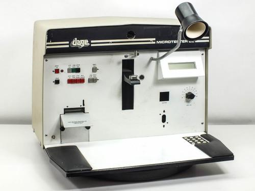 Dage MF-22A  Microtester 22 Wire Bond Pull & Shear Tester