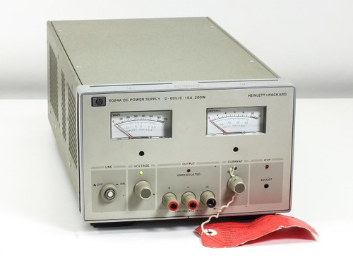HP 6024A  DC Power Supply - AS-IS For Parts or Repair