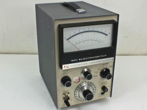 Keithley 601 Electrometer High-Input Resistance Meter - No Batteries