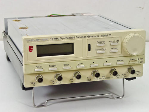 Wavetek Model 23  12 MHz Synthesized Function Generator w/out Cover