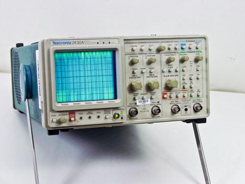 Tektronix 2430A Digital Oscilloscope 150MHz100MSa/s -AS-IS Damaged Internals