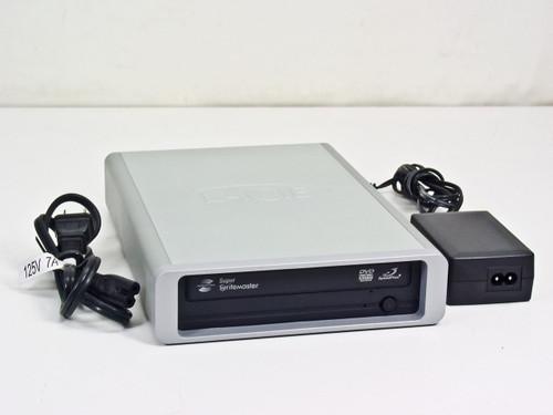 LaCie  D2 525  Super Writemaster External DVD Recorder Lightscribe USB / Firewire