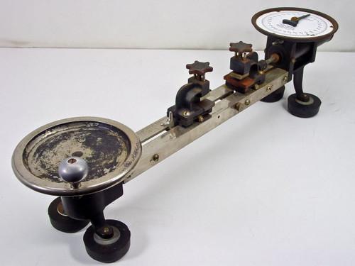 """Henry L. Scott Co  31"""" x 8"""" x 9""""  Scale Scott Testers Tensilgraph - As Is"""