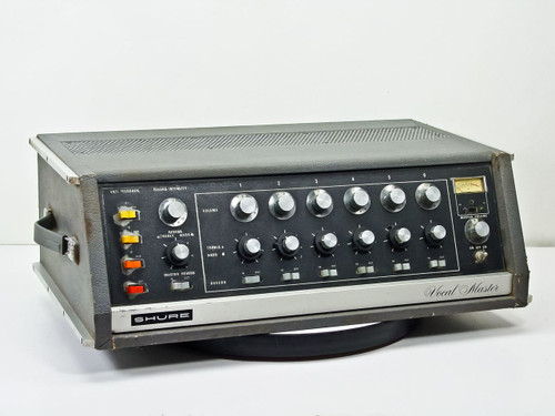 Shure Brothers VA-302-C Vocal Master Control Console -AS-IS FOR PARTS
