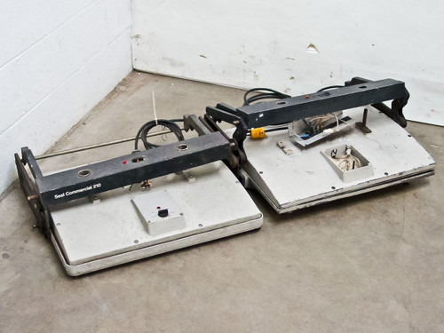 Seal Inc Commercial 210 Dry Mount & Laminating Press - Lot of 2 - As Is