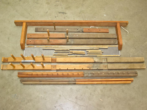 Vintage Wood  Floor Loom