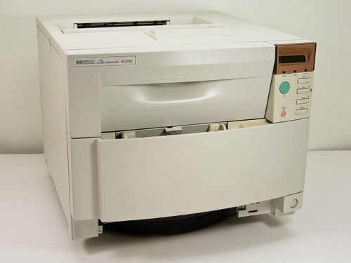 HP C7086A 4550N Color Laserjet Printer *AS-IS* Cracked Fuser / No Tray