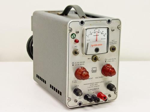Power Designs Inc. 4005 0-40VDCTransistorized Power Supply
