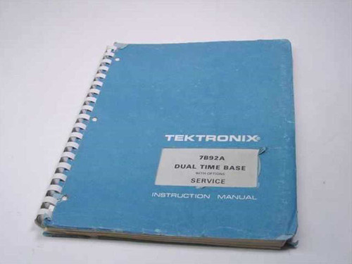 Tektronix Dual Time Base with Options Instruction Manual (7B92A)