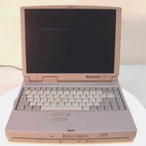 Toshiba Pentium II 266MHz Tecra 780DVD/5.1 Vintage Laptop (PA1264U-T2D)