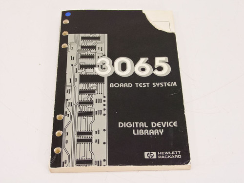 HP 3065  Board Test System Manual