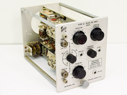 Tektronix  Type G   Wide-Band Differential Preamp