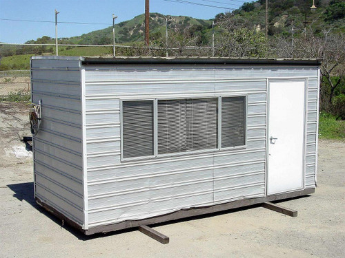Corrugated Steel and Aluminum 8169  Security Office