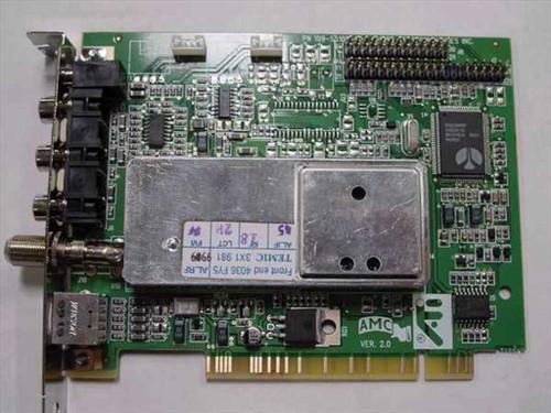 ATI PCI TV / Video Capture Card 1025511002 (109-55100-00)
