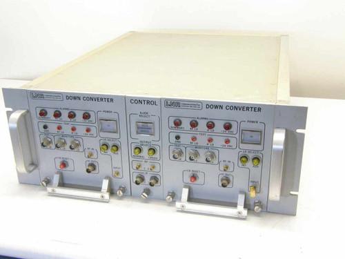 LNR DC4-D1  Down Converter set in Aluminum Chasis