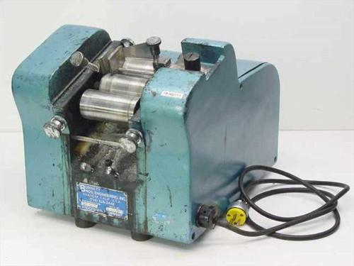Burnett Bros Engineering Blue Industiral Processing Labeler 115 Volts