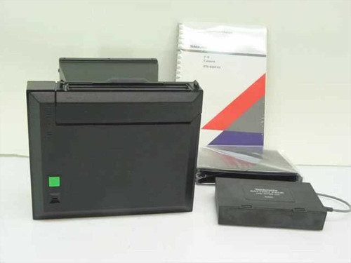 Tektronix C-9  Oscilloscope Camera with Polaroid Back, Manual & Battery Pack