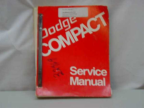 Dodge B100 B200 B300 CB300 and MB300 Service Manual (Compact)