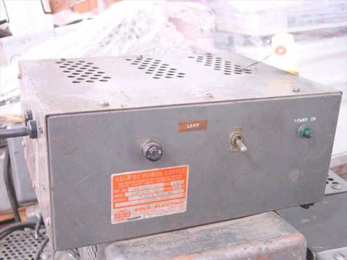 Sola DC Power Supply 3 - 22 Volts DC 7.5 Amps 28-5093