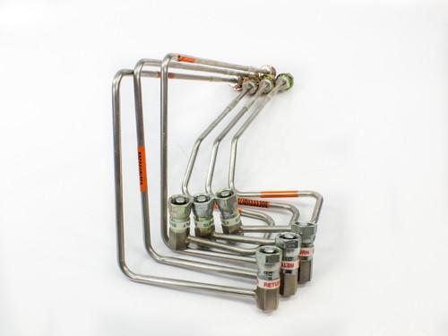 CTI Cryogenics 8143143 3 PAIR of Compressor He SUPPLY & RETURN Lines G001 G002