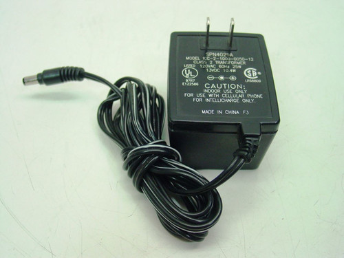 Motorola AC Adapter 13VDC 10.4W - Model ICC-1000-0050-12 SPN4029A