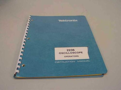 Tektronix 2239  Oscilloscope Operators manual