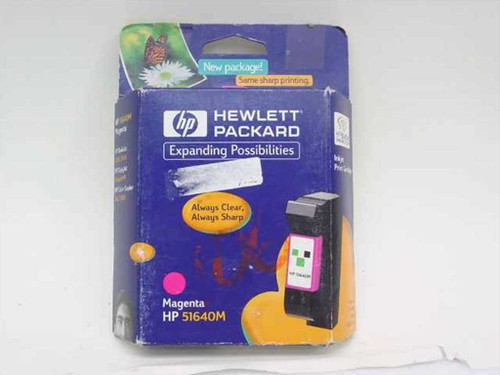 HP 51640M  Deskjet 1200/1600C Magenta Ink Cartridge