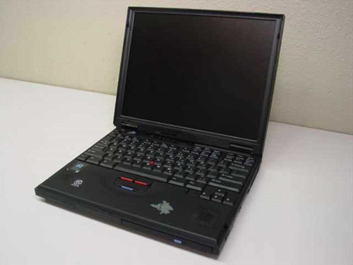 IBM ThinkPad 600 PII 300Mhz 64mb 2.0gb CD-ROM - As Is 2645-45U