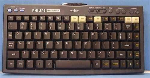 Philips/Magnavox MWK122BK  Wireless keyboard for WebTV