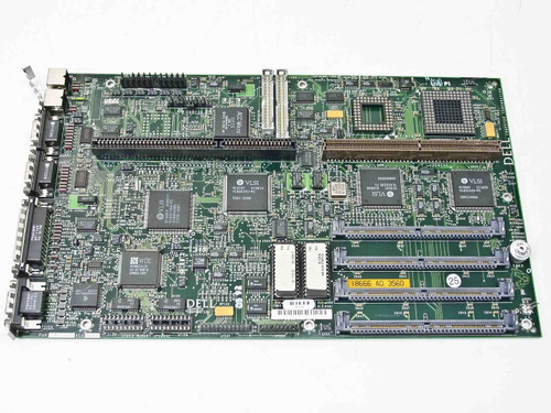 Dell 386 AT System Board 18666A 18666