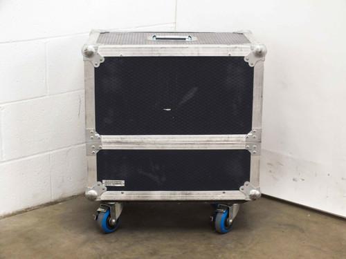 "Redwood Packaging 22"" x 15.5"" x 20""  Blue Road Case with Castors"