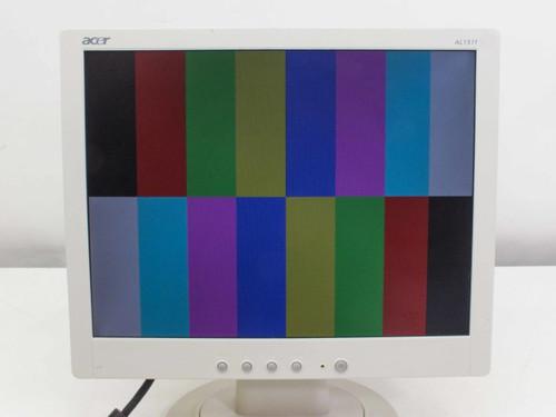 "Acer ET.15110.000 AL1511 w 15"" LCD Monitor VGA White"