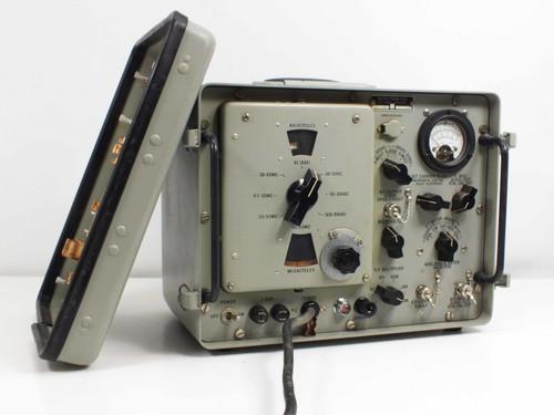 Navy Department AN/URM-25D SG-85 RF Signal Generator