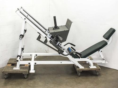 Hoist F-355  Plate Loaded Angled Leg Press Freeweight Machine