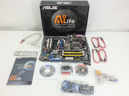 Asus P5N32-SLI Deluxe Gaming Motherboard