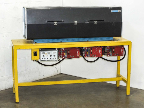 Lindberg 54676  Hevi-Duty Tube Furnace Barber Colman 545C 3 Zone Controller, Max Temp