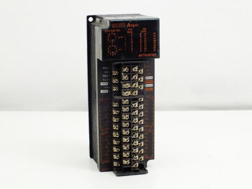 Mitsubishi MELSEC PLC Output Unit DC12/24V 0.3A (AY51C)