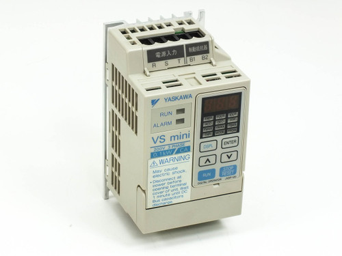 Yaskawa CIMR-XCAA20P1  Inverter Drive VS mini 200V 3 PH 0.1kW