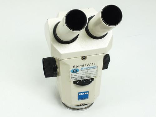 Zeiss SV 11  Stemi Binocular Microscope Head & Objective - As is